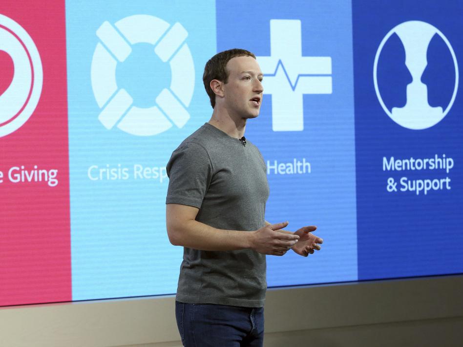 Mark Zuckerberg, Founder, Chairman and CEO of Facebook. (Stuart Ramson/AP)