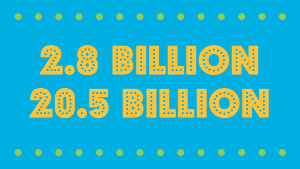 2.8 billion