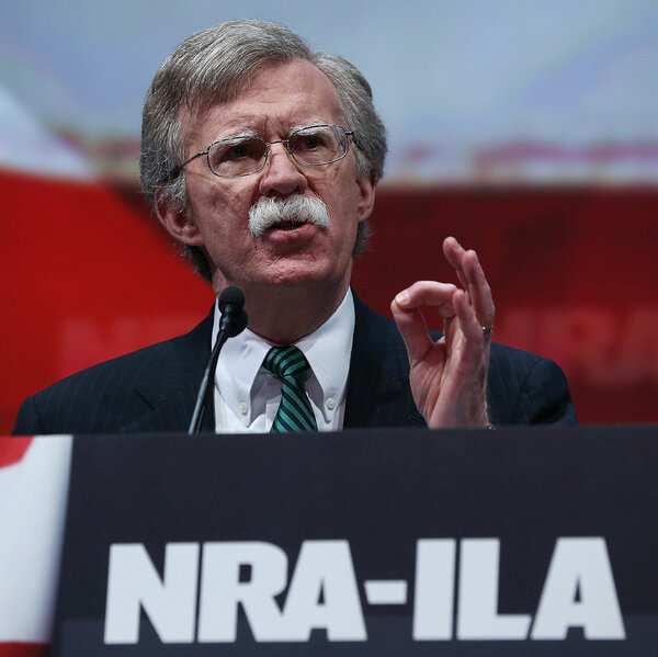 John Bolton's Curious Appearance In A Russian Gun Rights Video