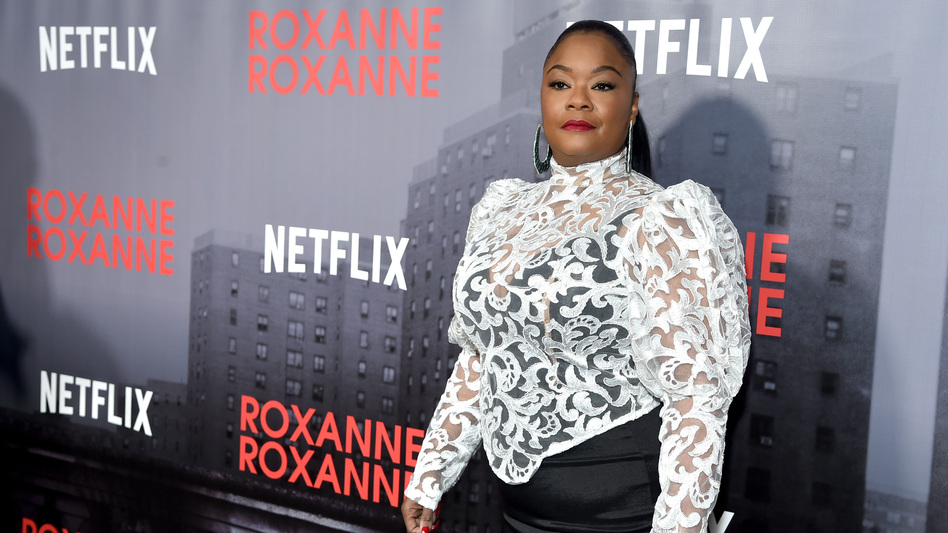 Roxanne Shante attends a special screening of <em>Roxanne Roxanne</em> March 19, 2018 in New York City. (Jamie McCarthy/Getty Images for Netflix)