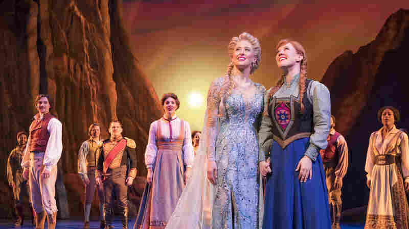 'Frozen' Hits Broadway, In 'A Sophisticated Dignified Adult Psychological' Way