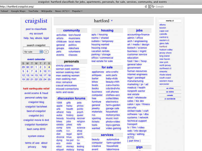 Craigslist Shuts Down Personals Section After Congress Passes Bill