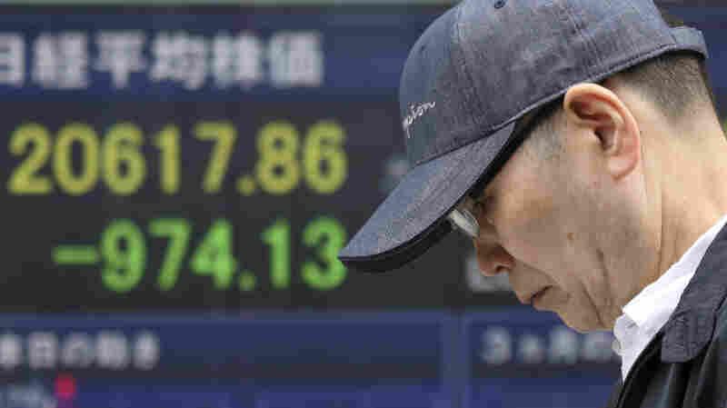 U.S.-China Trade War Fears Send Global Stock Markets Tumbling
