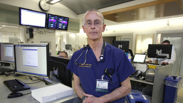 """Dr. Garen Wintemute, an emergency room physician at the University of California, Davis, Medical Center, researches gun violence and the firearms industry, and is skeptical new authority given to the Centers for Disease Control to research causes of gun violence will help. """"There"""