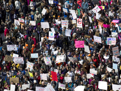 Hundreds of Thousands March For Gun Control Across The U.S.