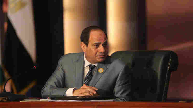 With Little Choice, Egyptians Head To The Polls In Presidential Election