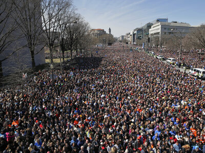 Watch: 'March For Our Lives' Rally In Washington, D.C.