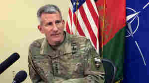 Top U.S. Commander In Afghanistan Accuses Russia Of Aiding Taliban