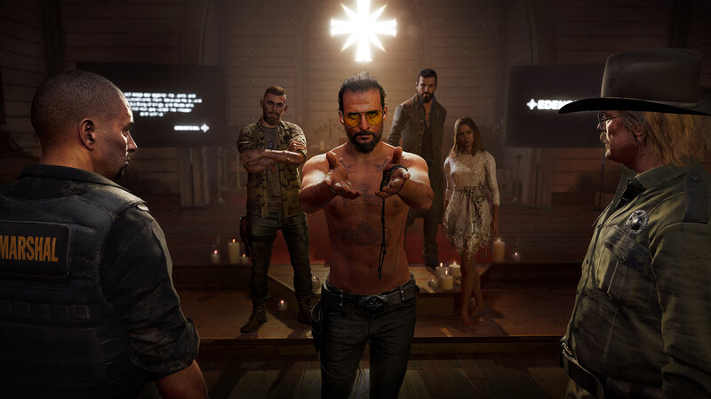 huge discount cute special for shoe An Americana Hymnal For The Doomsday Cult Of 'Far Cry 5' : NPR