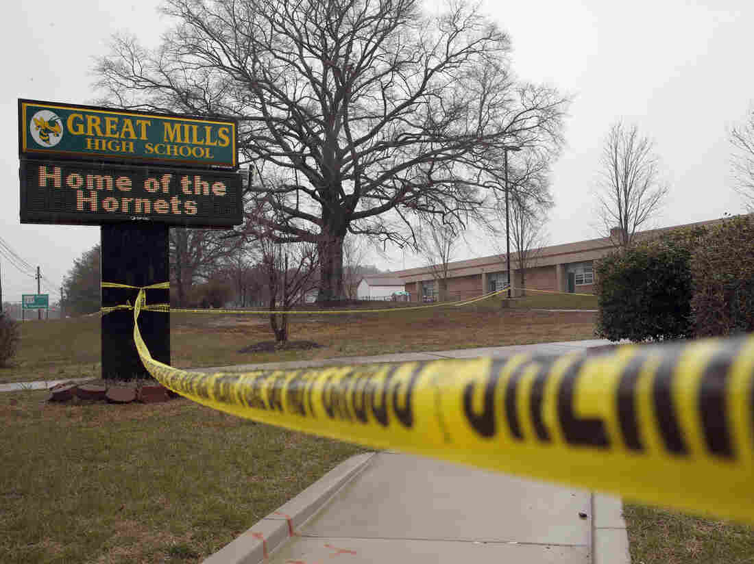 Md. high school shooter killed self, authorities say