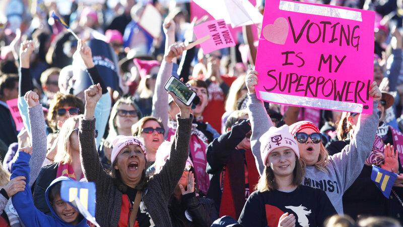 8bd06c641ef4 Do Women Candidates Have An Advantage In 2018? : NPR