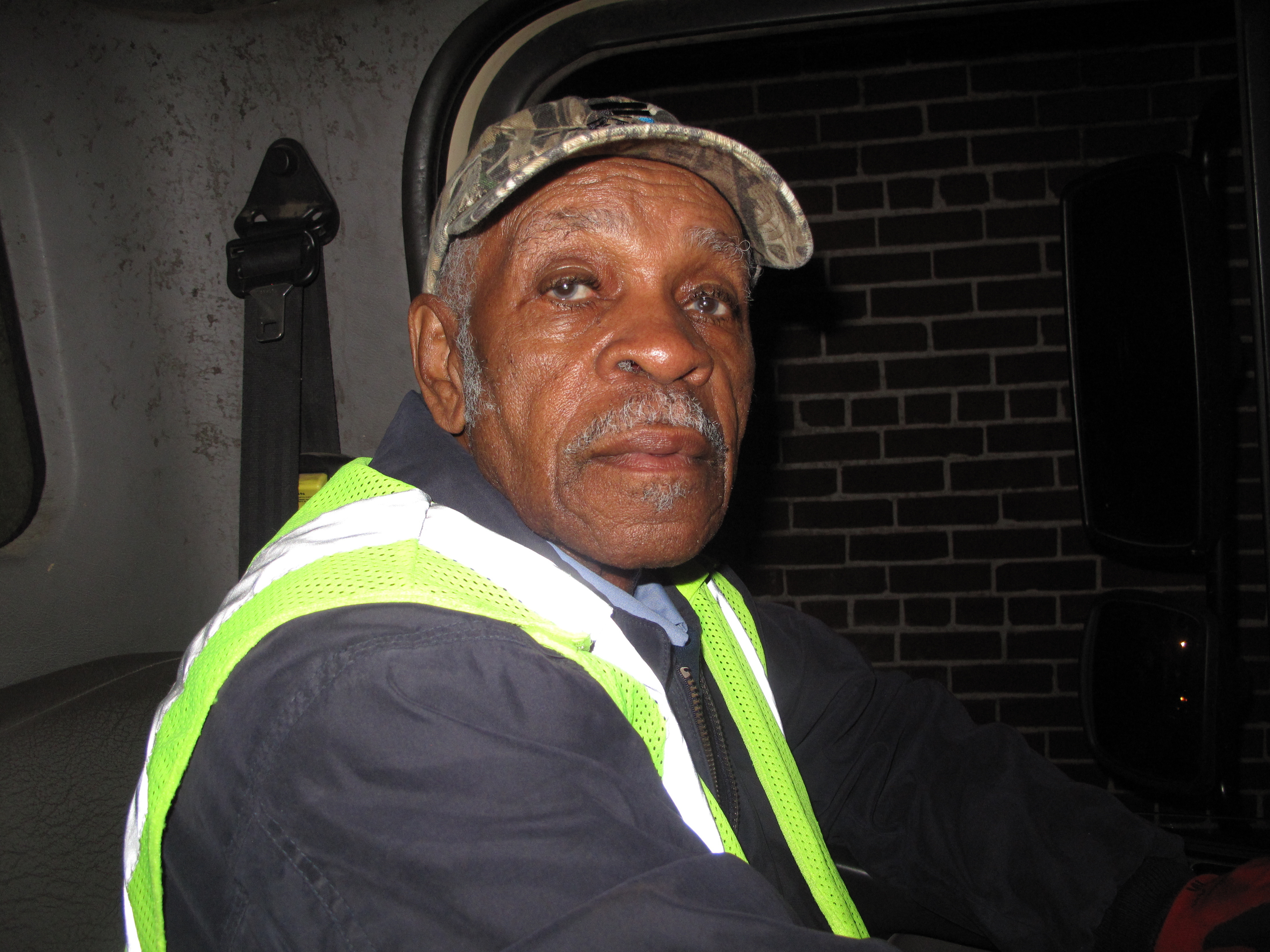 Eighty-six-year-old Elmore Nickelberry is one of the last strike participants still on the job with the Memphis Sanitation Department.