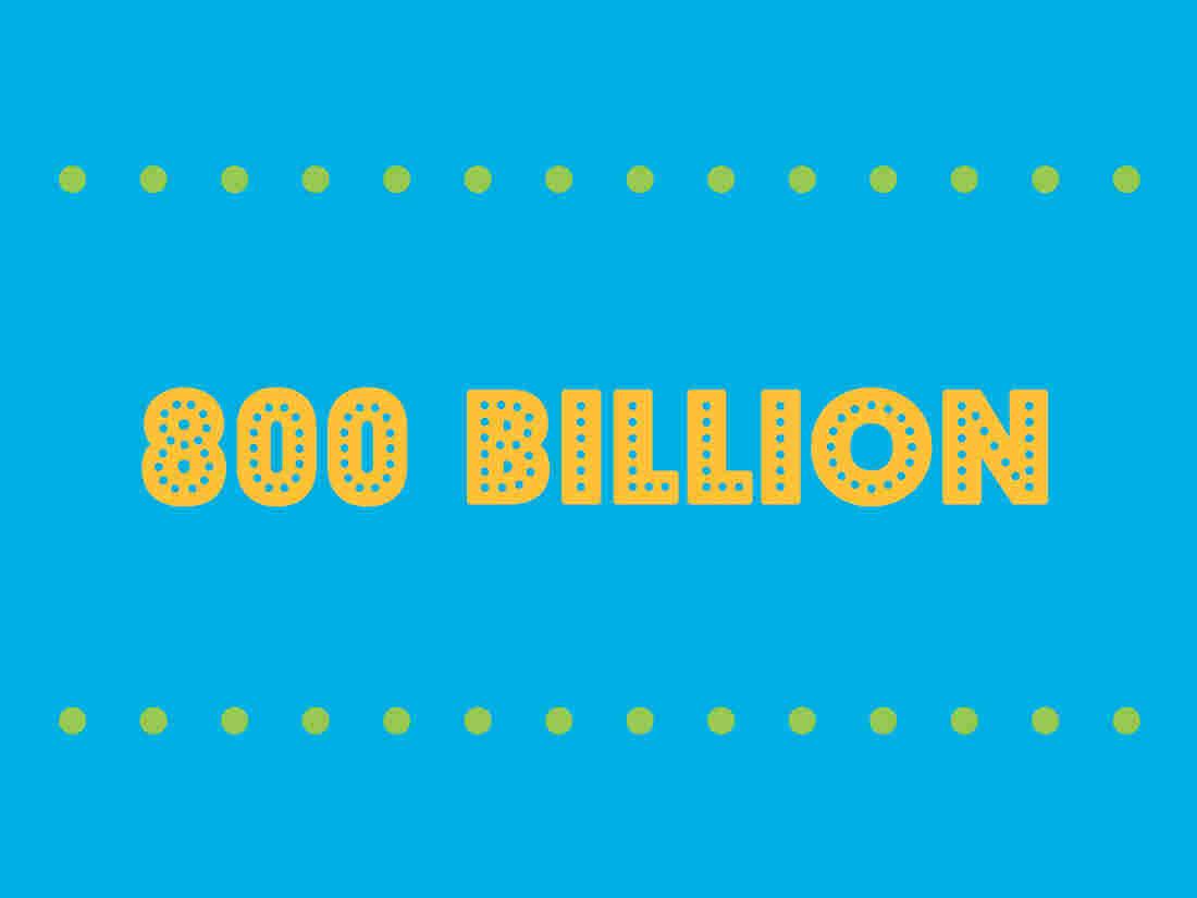800 billion