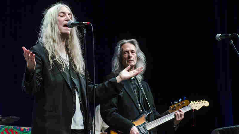 Patti Smith On Mountain Stage