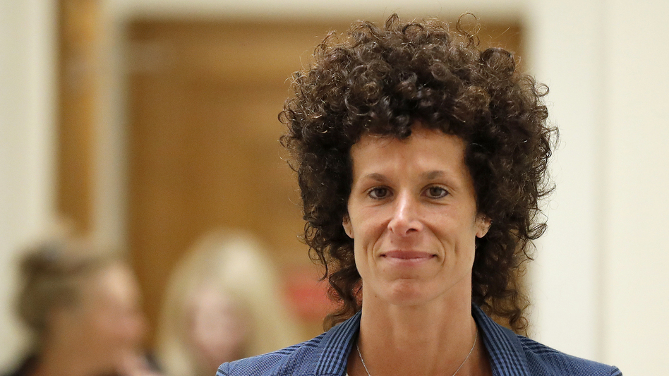 Andrea Constand leaves the courtroom after closing arguments on June 12, 2017. The judge declared a mistrial when the jury couldn't reach a verdict after more than 50 hours of deliberation.
