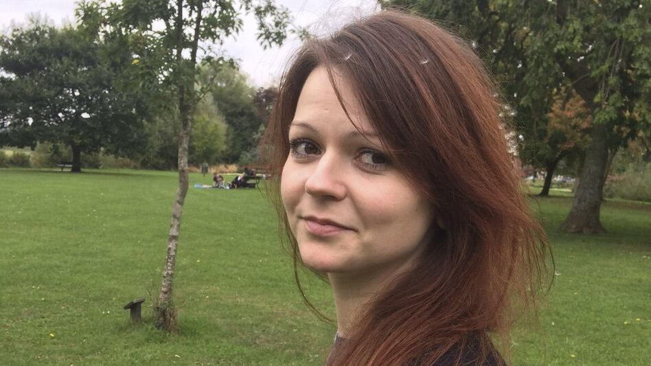 "Yulia Skripal, seen in an image taken from her Facebook account earlier this month. The 33-year-old daughter of former Russian spy Sergei Skripal is ""improving rapidly,"" according to hospital officials. (Yulia Skripal/Facebook via AP)"