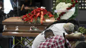 Funeral For Stephon Clark Held As Sacramento Unrest Continues