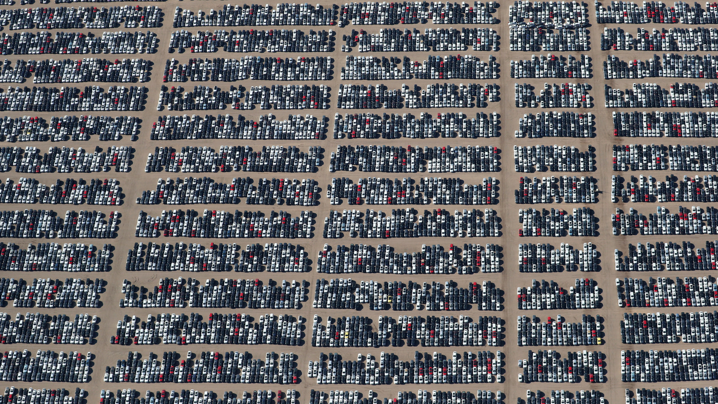 Why 300,000 Volkswagens Are Being Stored In These Massive