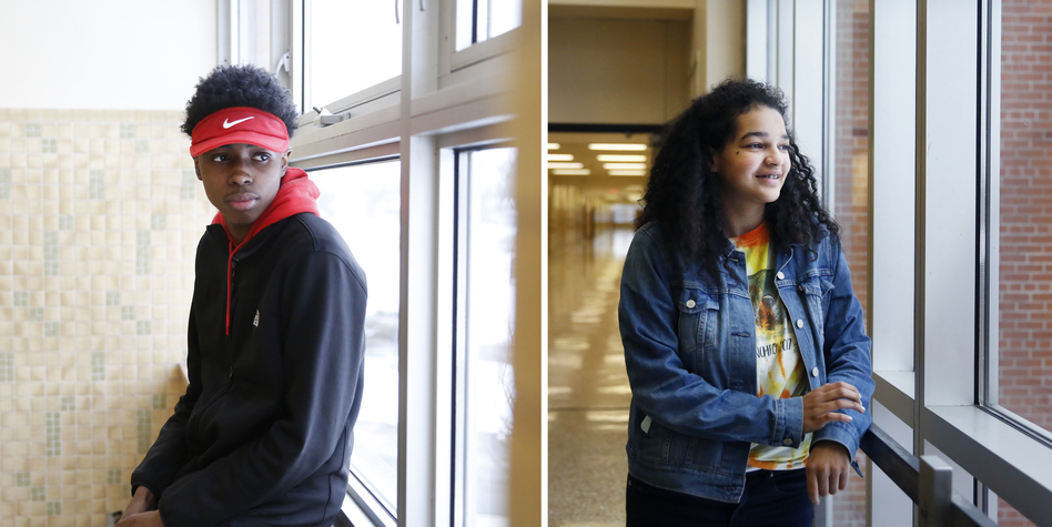 Students like Tony Longs, left, and Tjessa Arradando, right, both sophomores, say BARR worked for them.