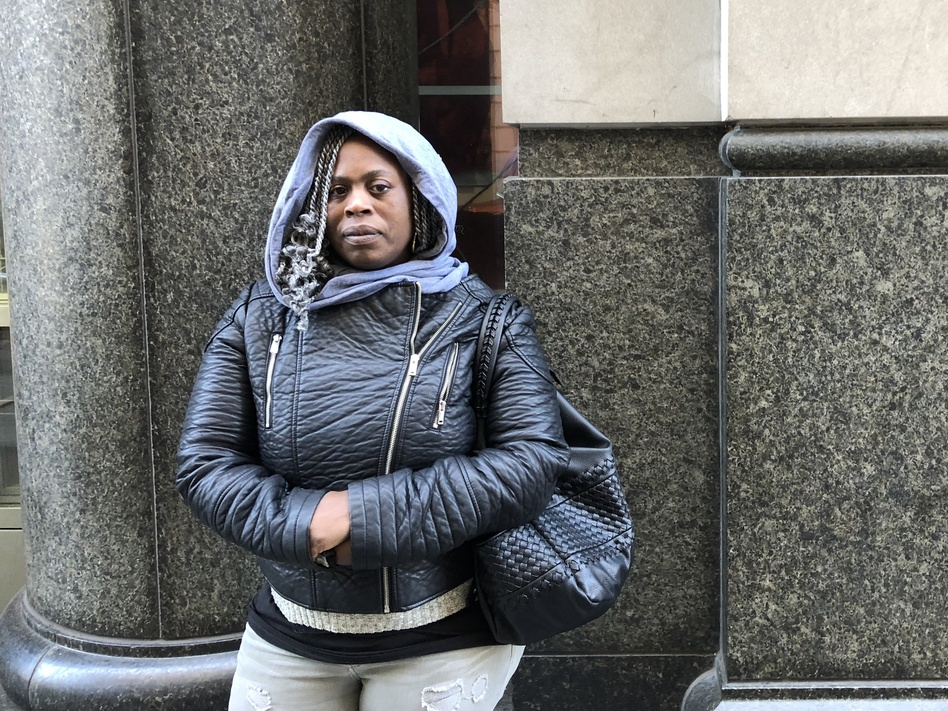 Celestine Shorts' brother, Christopher, was fatally shot last year. She is opposed to the policy and says a courtroom debate about money would be upsetting to her. (Bobby Allyn/WHYY)