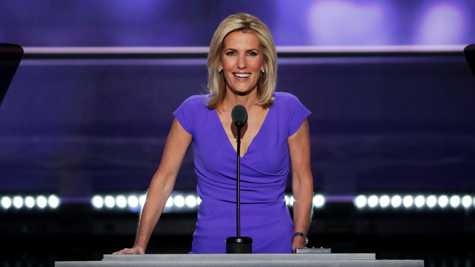 Fox News host Laura Ingraham delivers a speech 2016 Republican National Convention. Several advertisers are backing away from her show. (Alex Wong/Getty Images)