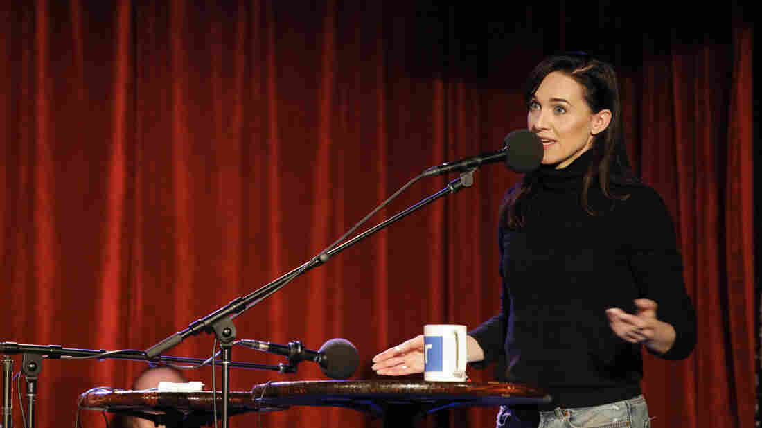 Lena Hall, who won a Tony for her performance in Hedwig and the Angry Inch, guests on NPR's Ask Me Another at The Bell House in Brooklyn, New York.