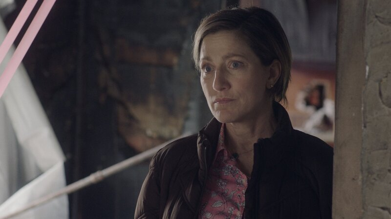 edie falco plays a middle aged teacher with a lot to learn in