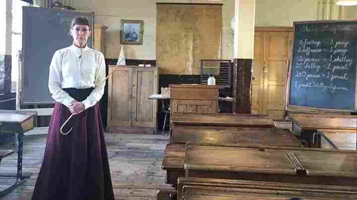 A 'Ragged School' Gives U.K. Children A Taste Of Dickensian Destitution