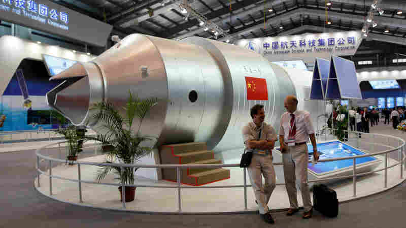 Chinese Space Lab Crashes To Earth