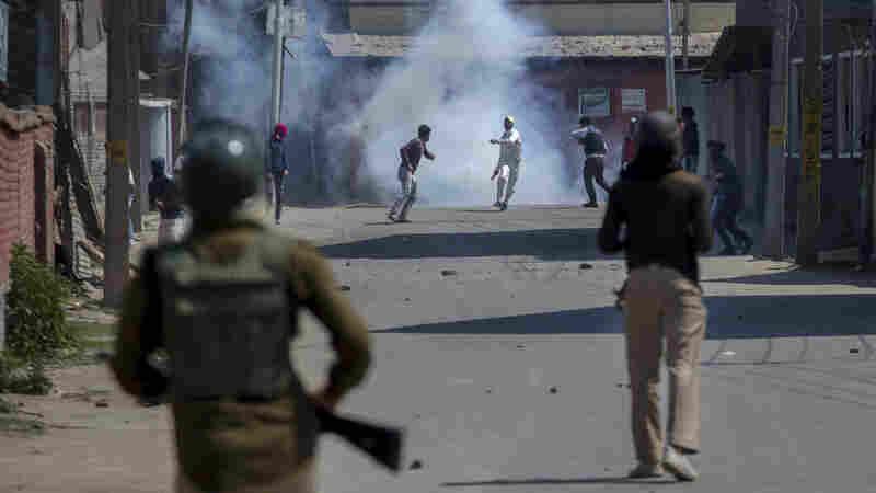 After Violence Erupts In Kashmir, Disputed Region Shutters Storefronts In Strike
