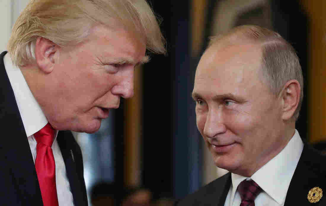 Trump invited Putin to meet in Washington