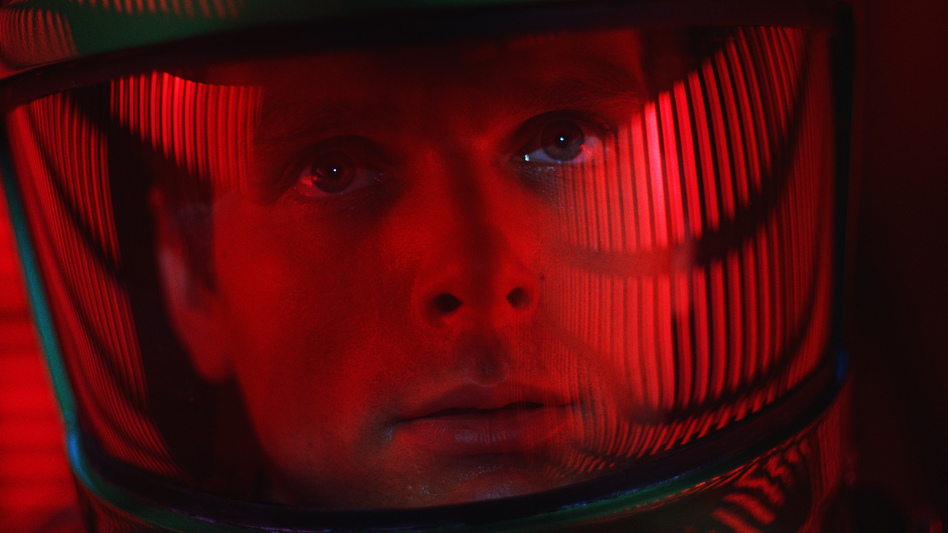 Keir Dullea played astronaut David Bowman in Stanley Kubrick's 1968 film, <em>2001: A Space Odyssey.</em> (Warner Bros./AP)
