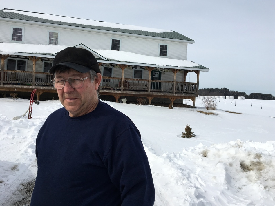 Low milk prices forced Vermont dairy farmer Jacques Rainville out of business. (John Dillon/Vermont Public Radio)