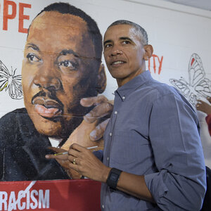 Barack Obama And John Lewis Remember The Work Of Martin Luther King Jr.
