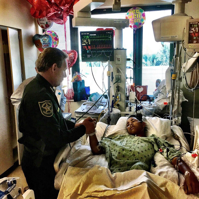 School Shooting Survivors Bear Their Scars And Bear Witness