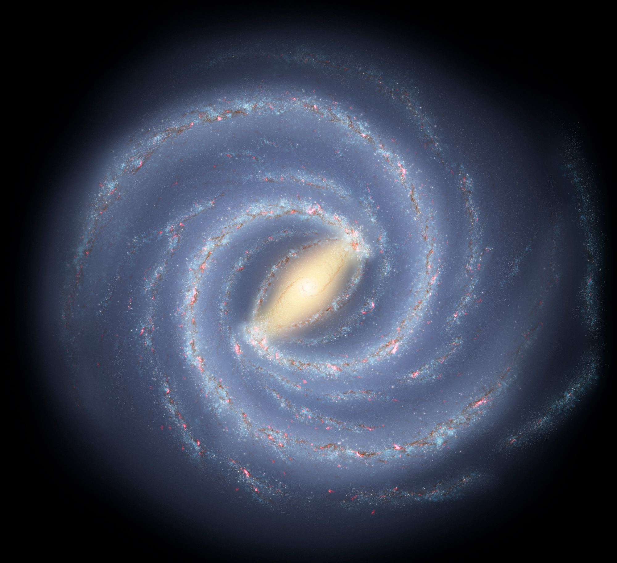 Center Of The Milky Way Has Thousands Of Black Holes, Study Shows