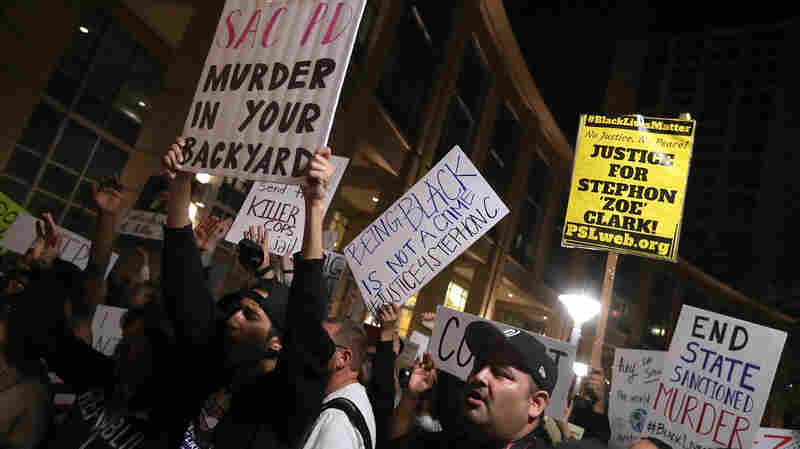 After Stephon Clark Shooting, Questions Remain About Police Use Of Force
