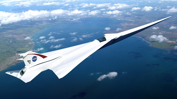 Lockheed Martin's Quiet Supersonic Technology (QueSST) concept's unique design would allow it to separate the shocks and expansions associated with supersonic flight, resulting in a soft thump rather than a disruptive bang.
