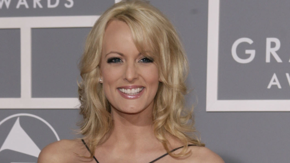 """A lawyer for Stephanie Clifford, who performs under the stage name Stormy Daniels, says their """"case just got a whole lot better"""" after the president's remarks. (Matt Sayles/AP)"""