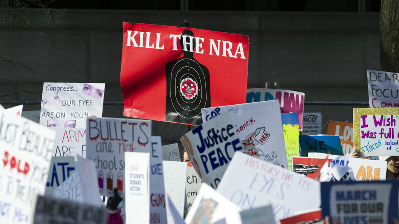 How The NRA Worked To Stifle Gun Violence Research : NPR