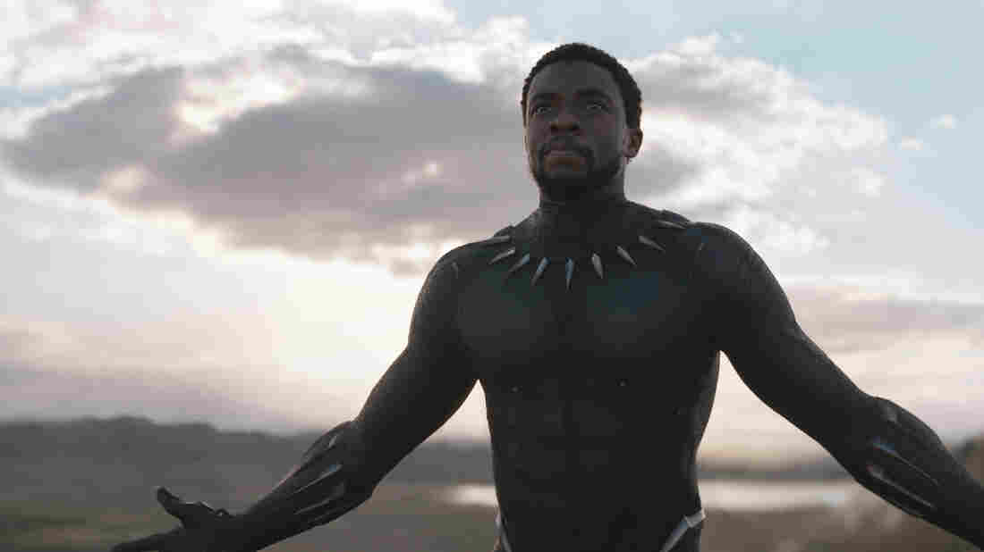Chadwick Boseman stars in Black Panther, the first film that most Saudis will see in a commercial theater.