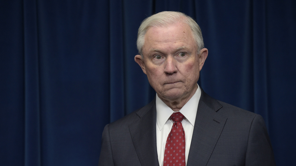 Attorney General Jeff Sessions has ordered federal prosecutors to consider tougher charges against people who illegally cross the U.S.-Mexico border for the first time. (Susan Walsh/AP)