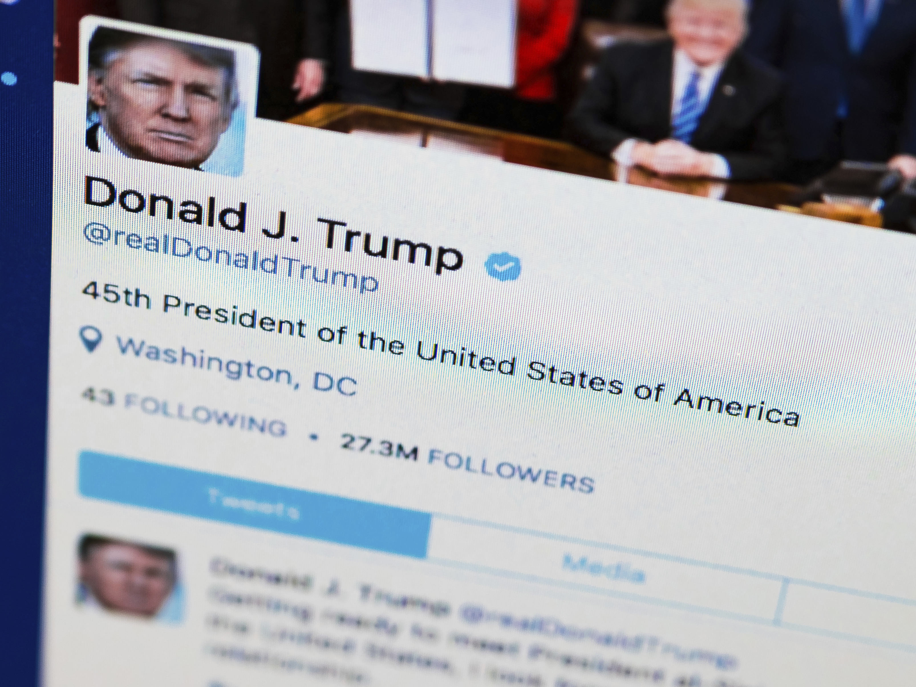 Analysis: In Trump's Twitter Feed, A Tale Of Sound And Fury