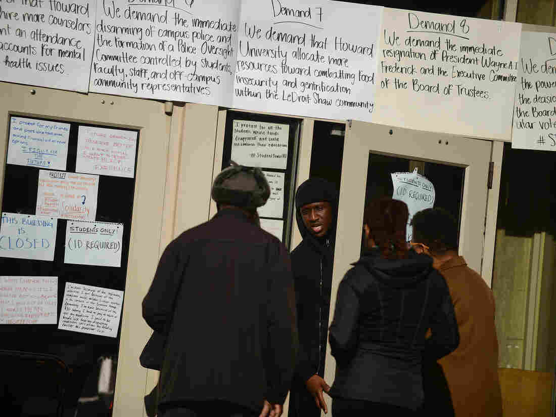 Howard University Students Win Big As 9-Day Sit-In Ends