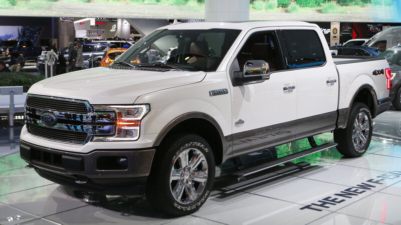 Ford Recalls 350,000 SUVs And Trucks, Citing Problems