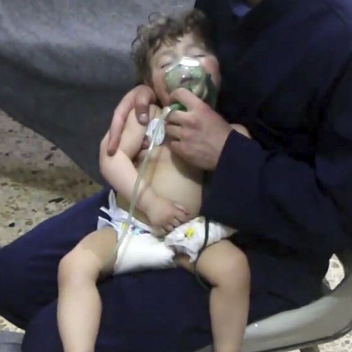 Syrian Government Accused Of Killing Dozens In Chemical Attack