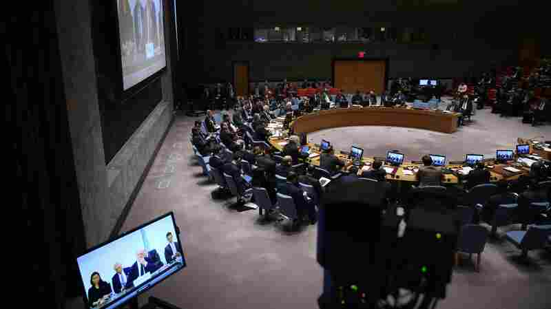 Russia Vetoes U.S. Resolution On Syria In U.N. Security Council