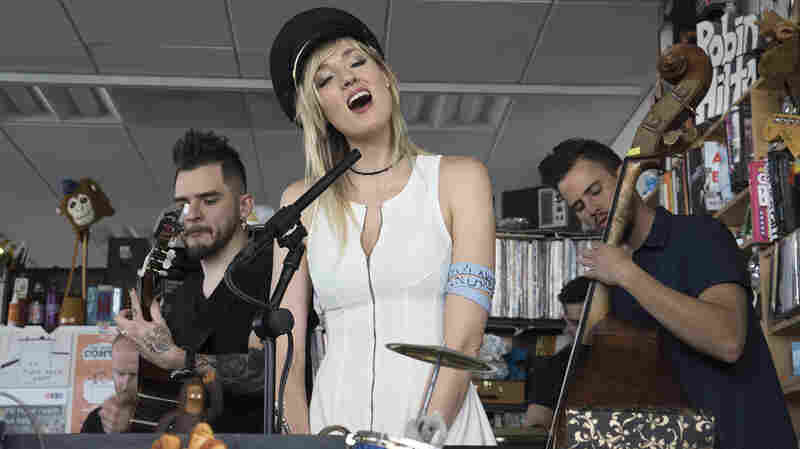Jenny And The Mexicats: Tiny Desk Concert