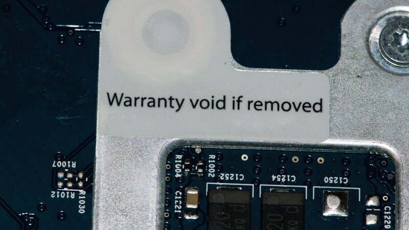 Warranty Void If Removed As It Turns Out Feds Say Those Warnings Are Illegal The Two Way Npr