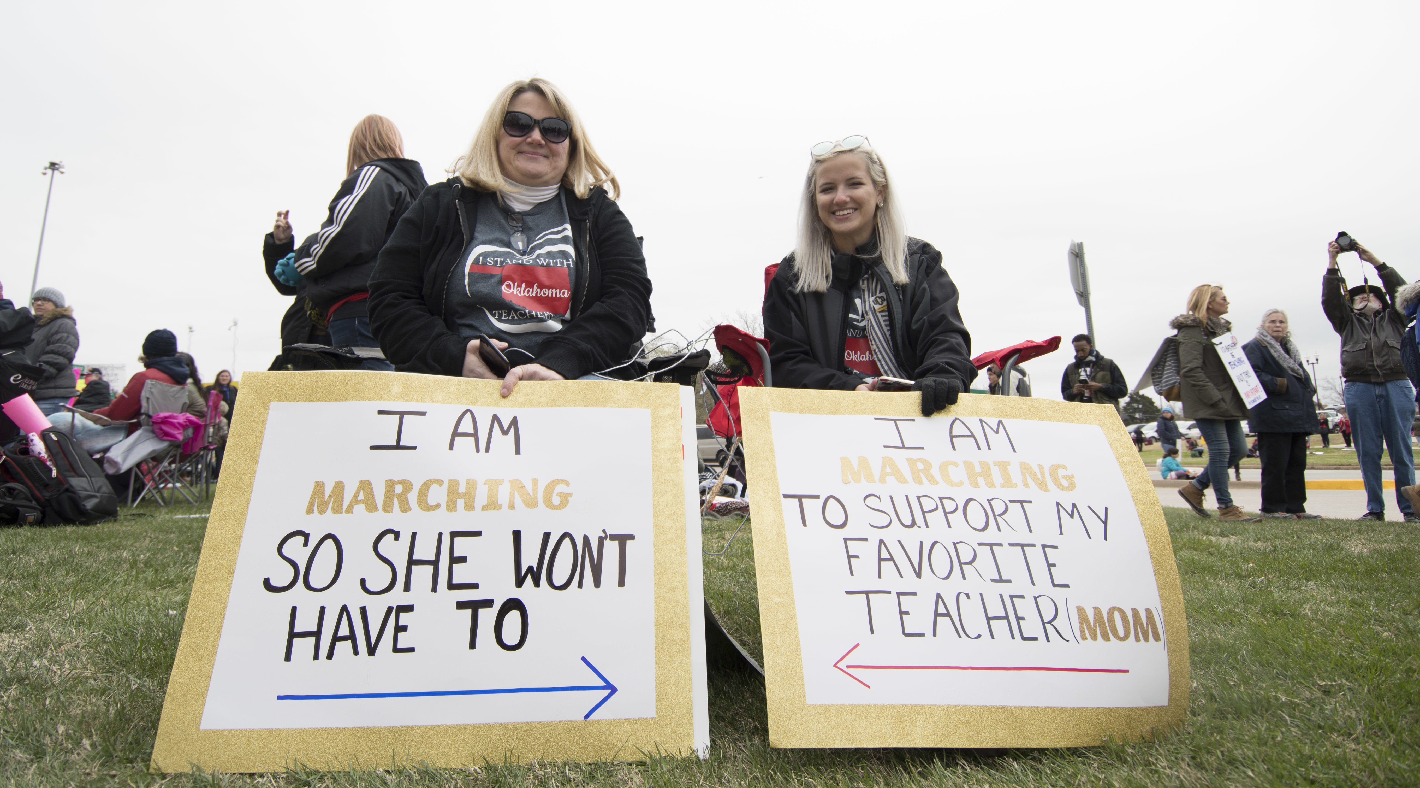 How Oklahoma Parents Are Dealing With Teacher Walkouts